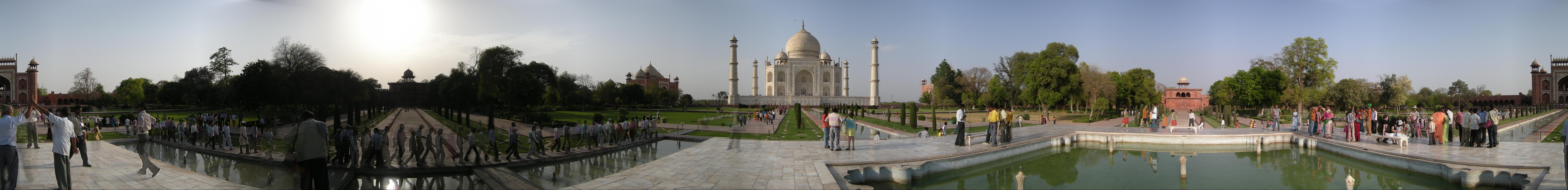 Sergej Marsnjak India North Agra Taj Mahal Panorama