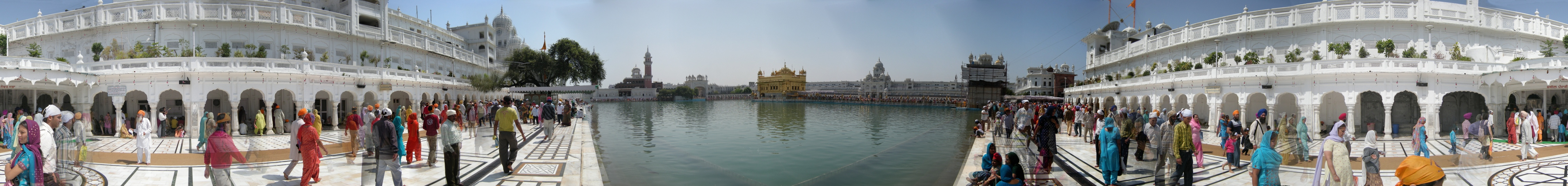 Sergej Marsnjak - India (North) - Amritsar - Golden temple - Panorama